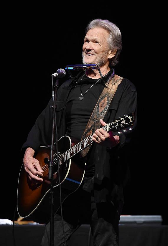 Kris Kristofferson performs at The Pearl Concert Theater at Palms Casino Resort in Las Vegas