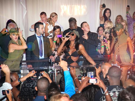 Kelly Rowland performs at PURE