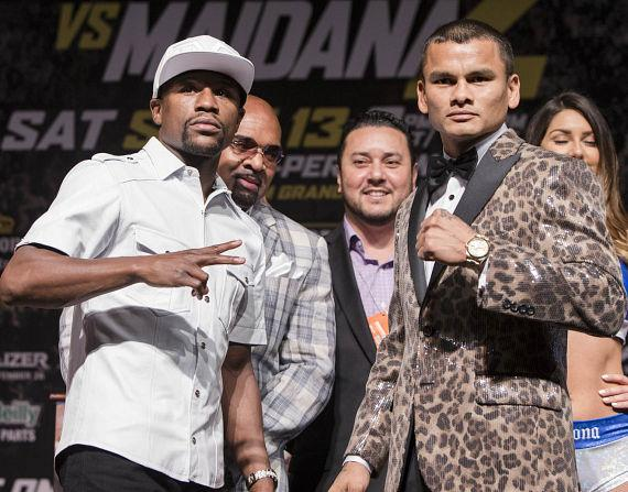Floyd Mayweather and Marcos Maidana Final Press Conference