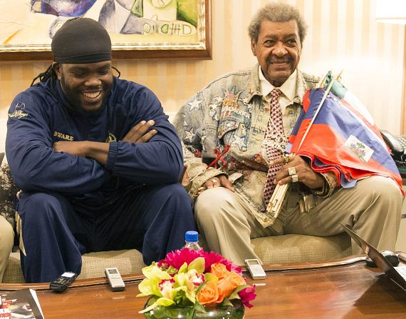 Bermane Stiverne and Don King