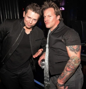 WWE Superstars Chris Jericho and Michael
