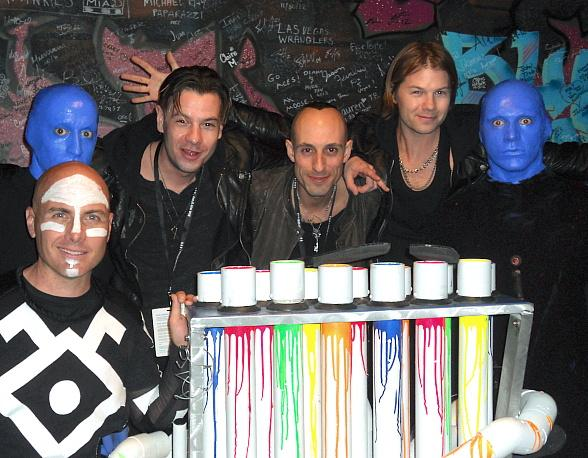 Street Drum Corps Visit Blue Man Group in Las Vegas