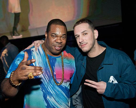 Busta Rhymes with DJ Eric Dlux