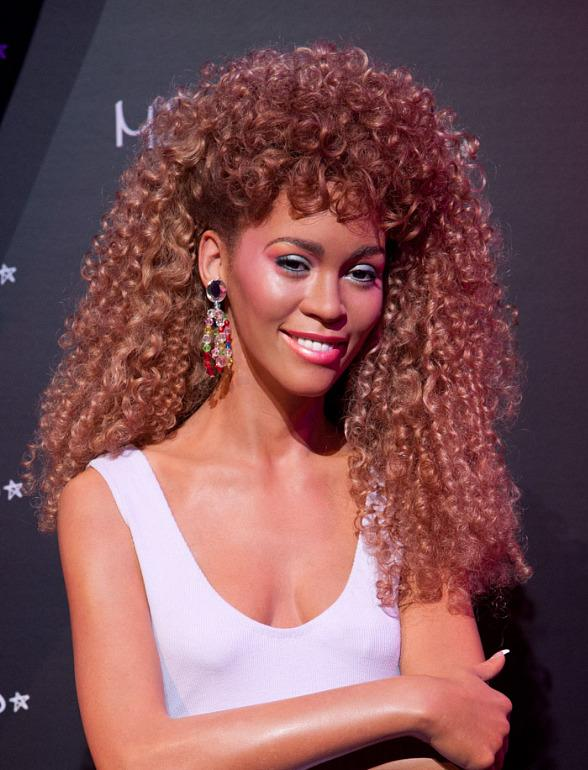 Madame Tussauds Las Vegas Unveils Wax Figure of Celebrated Icon Whitney Houston