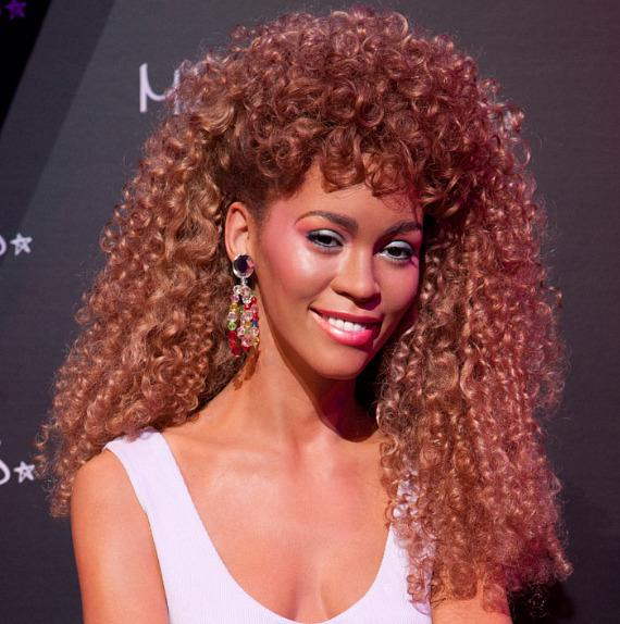 Whitney Houston wax figure unveiled at Madame Tussauds Las Vegas