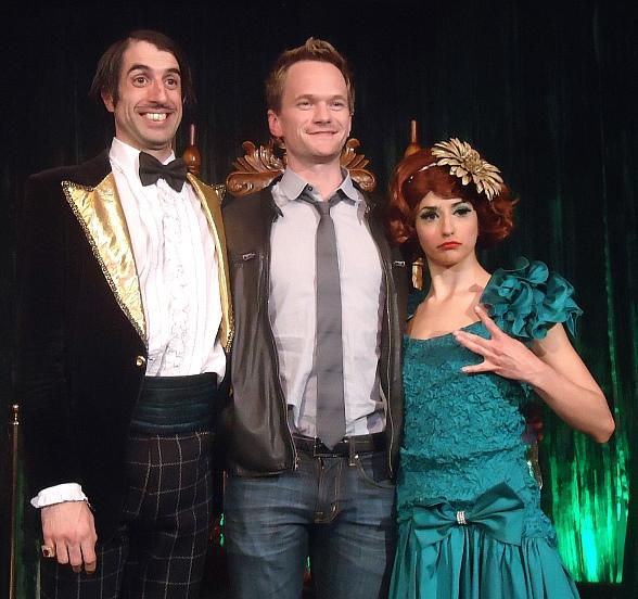 The Gazillionaire, Neil Patrick Harris and Penny Pibbets at Absinthe