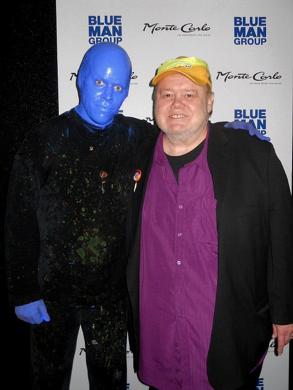 Louie Anderson at Blue Man Group Las Vegas inside Monte Carlo Resort and Casino
