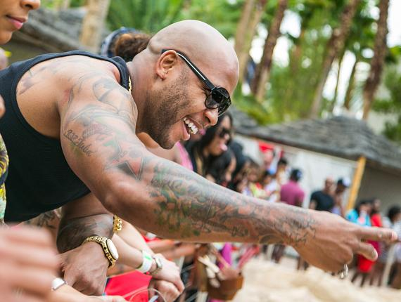 Flo Rida at REHAB
