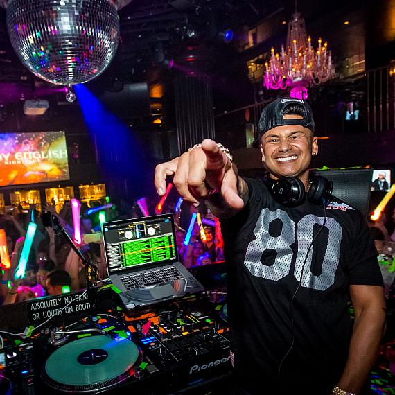 DJ Pauly D at Body English Nightclub