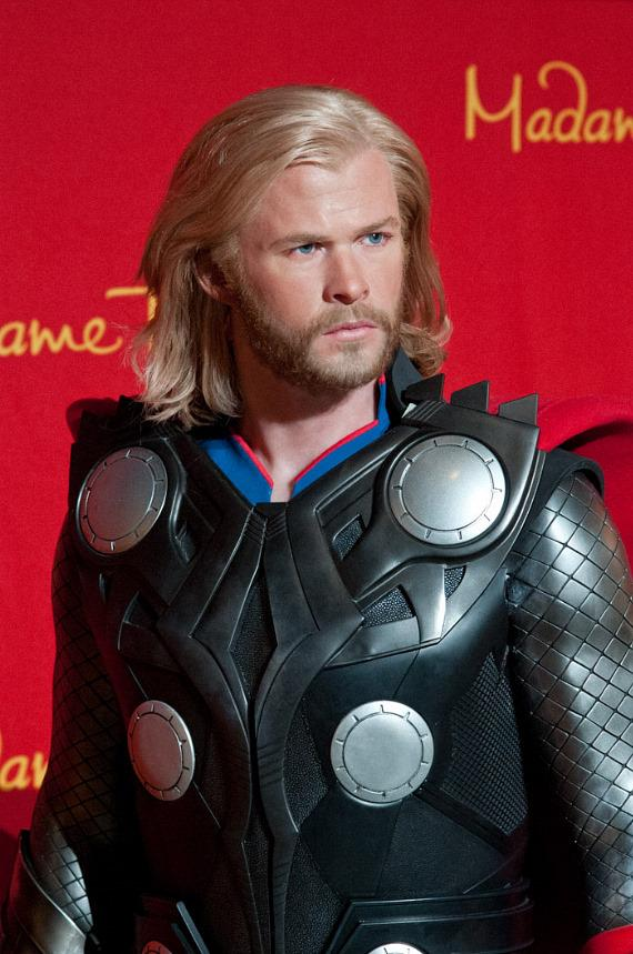 Madame Tussauds Las Vegas unveils wax figure of Marvel's Super Hero, Thor