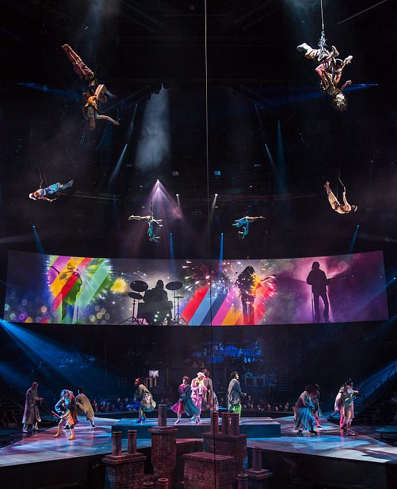 """""""Get Back"""" from """"The Beatles LOVE"""" by Cirque du Soleil"""