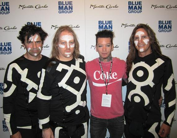 DJ Ashba of Guns N' Roses at Blue Man Group