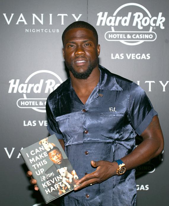 Kevin Hart at Vanity in Hard Rock Las Vegas