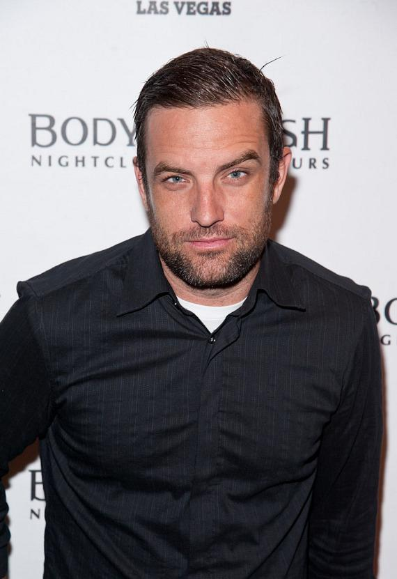 T.J. Lavin arrives at Body English Nightclub at Hard Rock Hotel Las Vegas