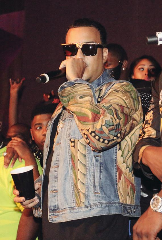 French Montana at Vanity