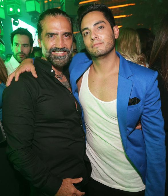 Alejandro Fernández, One Direction Band Members & More at XS Las Vegas