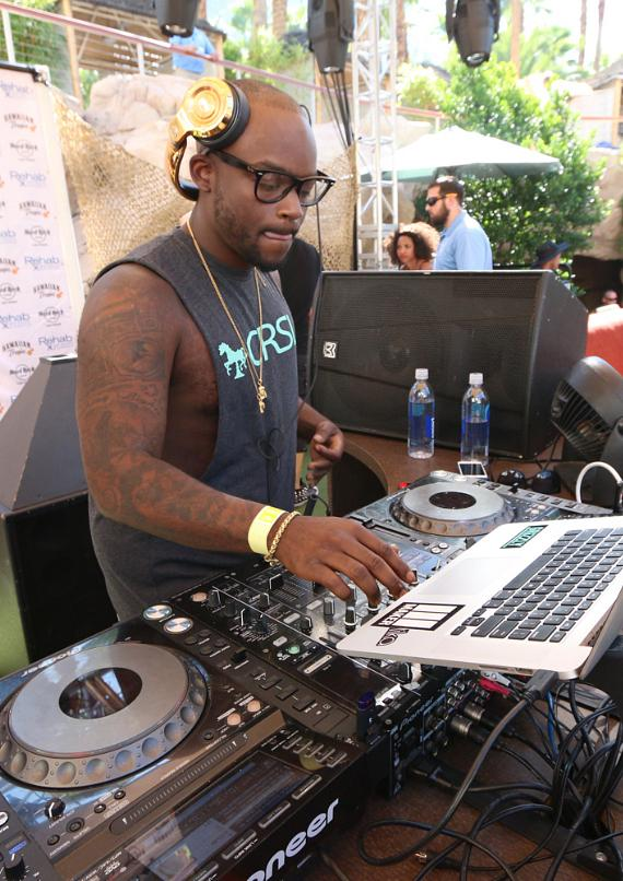 DJ Tay James at REHAB