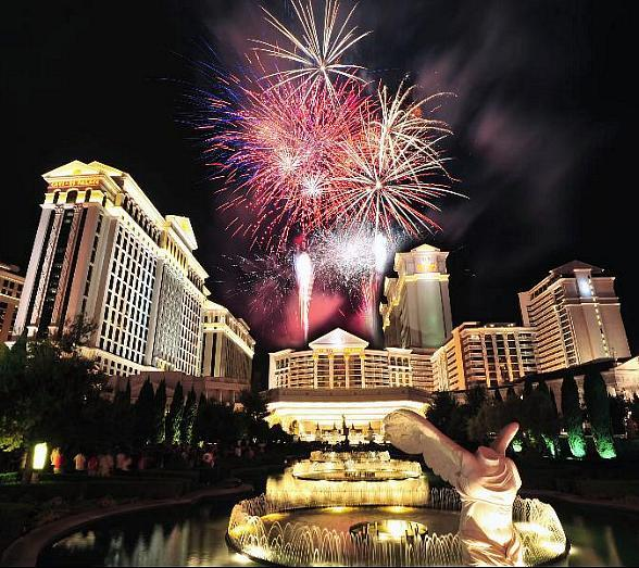 Fourth of July Fireworks at Caesars Palace