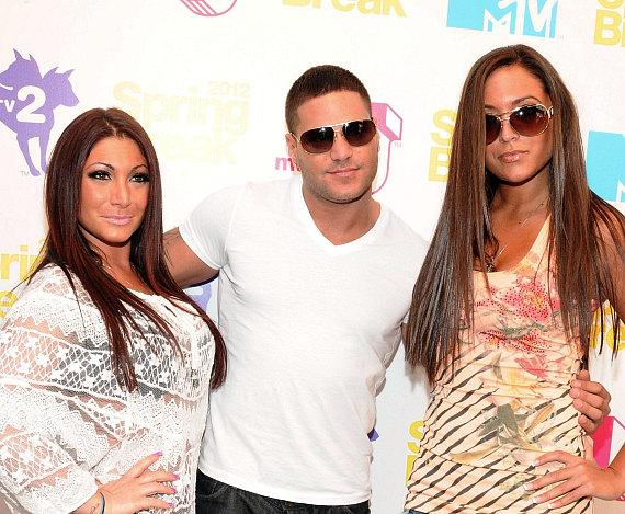 """Jersey Shore's"" Deena Nicole Cortese, Ronnie Ortiz Magro and Sammi ""Sweetheart"" Giancola"