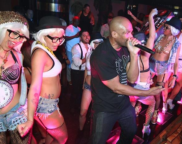 DMC of Run-DMC Performs at 1 OAK Nightclub at The Mirage