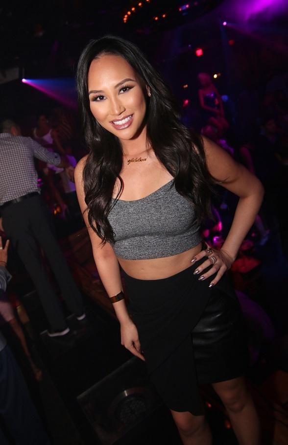 """Rich Kids of Beverly Hills"" Star Dorothy Wang Hosts at 1 OAK Nightclub in Las Vegas"