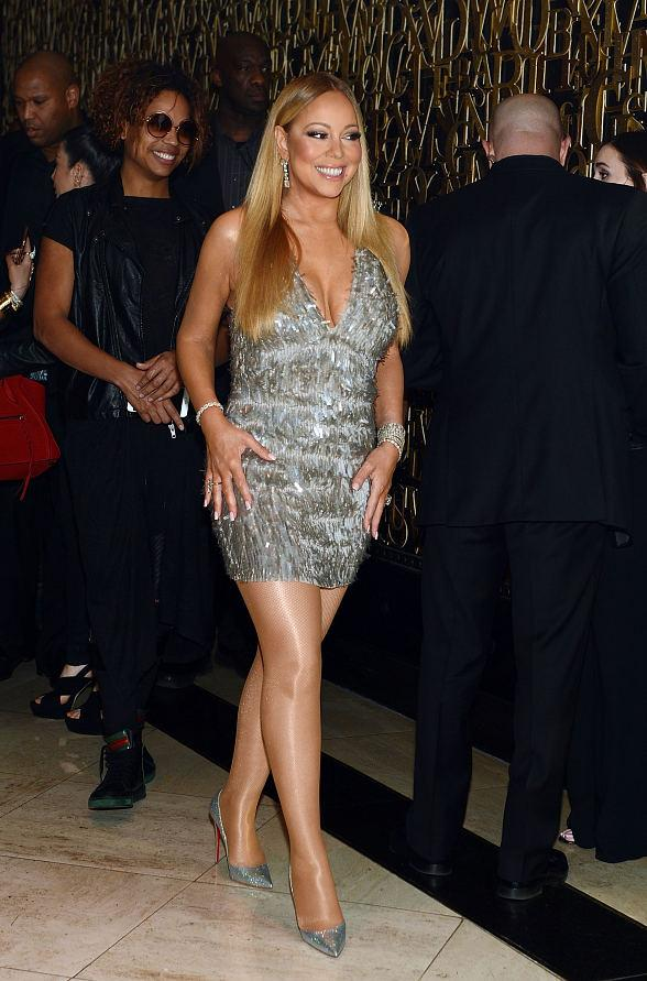 Mariah Carey Celebrates Wrap of