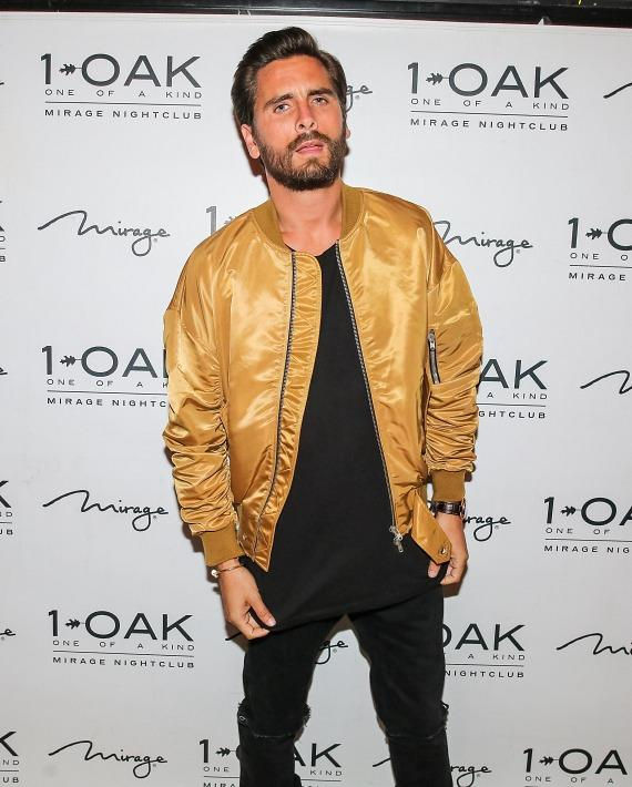 Reality Show Star Scott Disick returns to 1 OAK Nightclub inside The Mirage