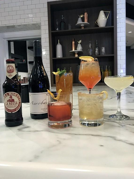 Get your drinks and cocktails during Contento's Happy Hour