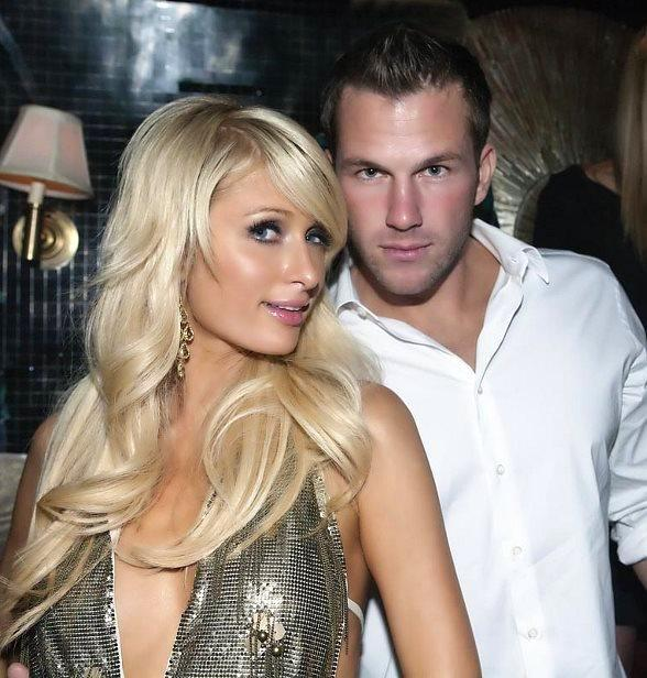 Paris Hilton and Boyfriend Doug Reinhardt at Body English