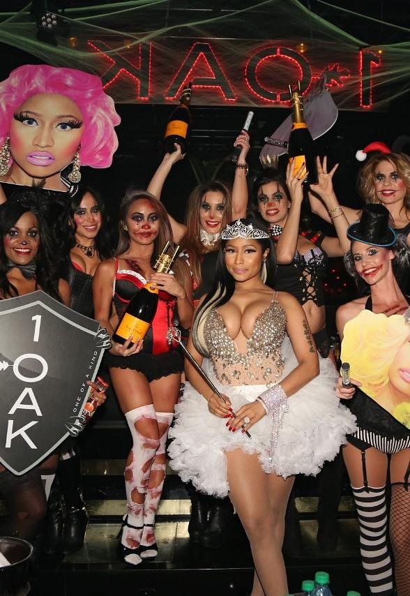 Nicki Minaj kicks off Halloween Weekend at 1 OAK Nightclub inside The Mirage