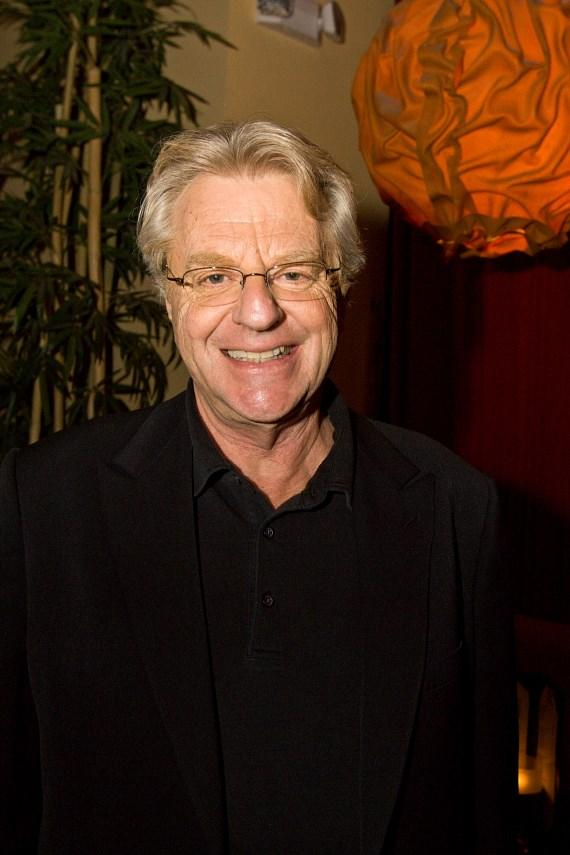 Jerry Springer at Hawaiian Tropic Zone inside Miracle Mile Shops