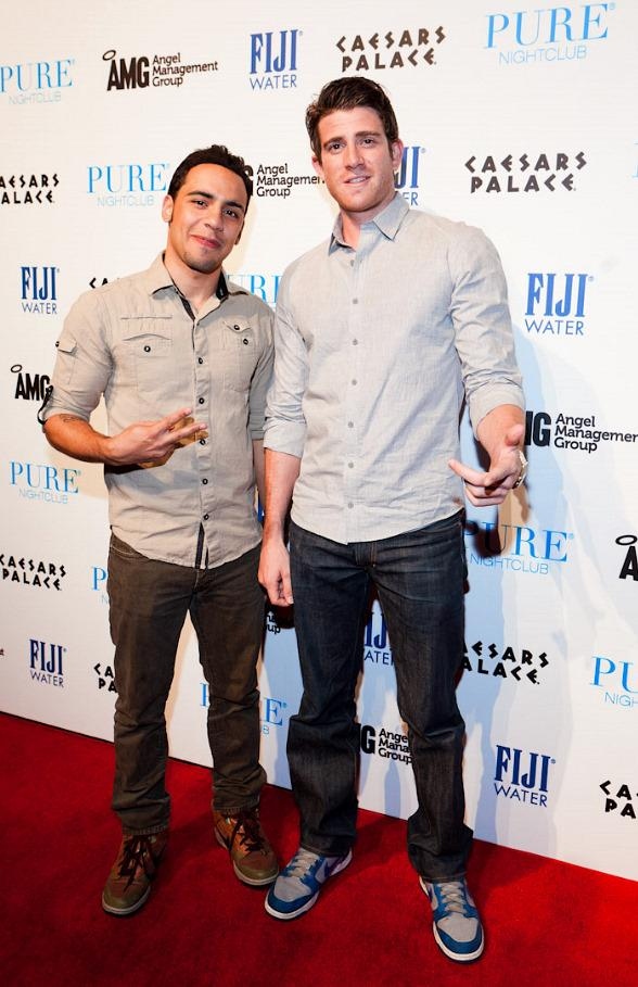 "Victor Rasuk and Bryan Greenberg of HBO's ""How To Make It In America"" Host at PURE Nightclub"