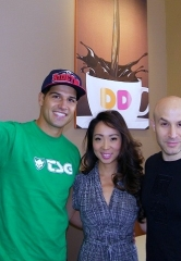 Illusionist and entertainer Seth Grabel supports Dunkin' Donuts and NVCCF's Camp Cartwheel charity benefits in Las Vegas