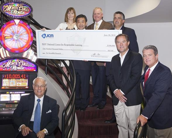 Gaming Industry Raises $100,000 for National Center for Responsible Gaming