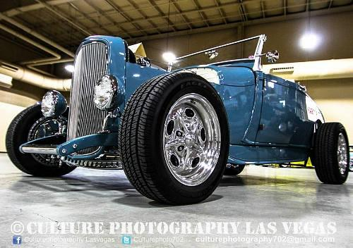 """Nick Kallos' 1929 Ford Model A Roadster, """"The Contender"""""""