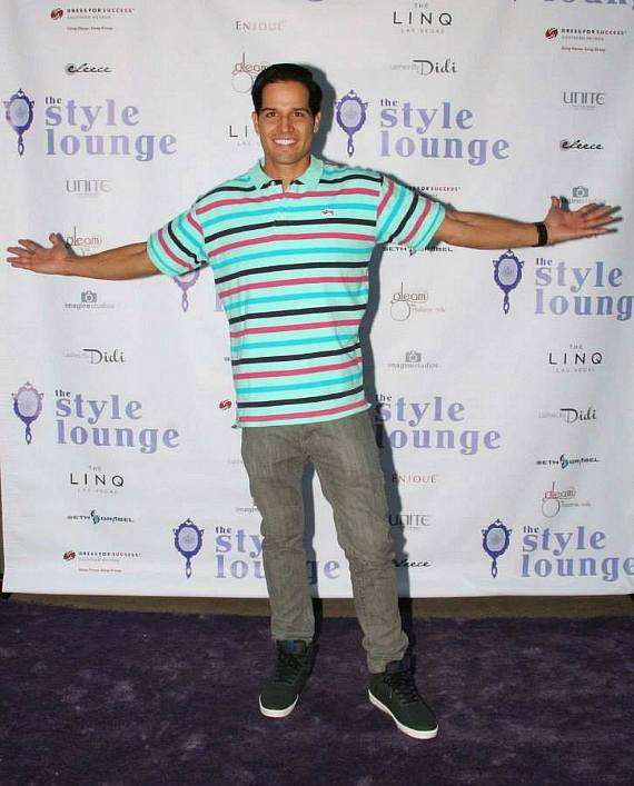 Ricardo Laguna at The Style Lounge