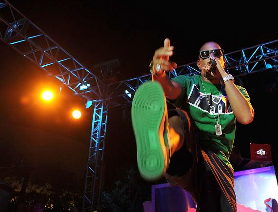 Ludacris performs at the Palms Pool & Bungalows