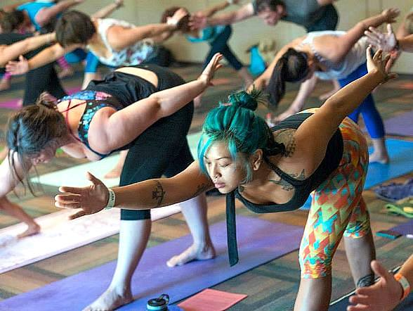 Yoga festival brings yin to Las Vegas' yang Sept. 19-20