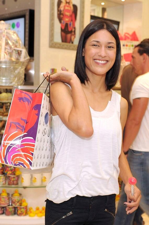 Julia Jones shops at Sugar Factory