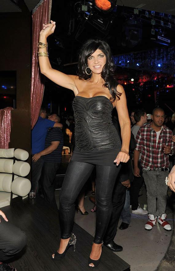 Teresa Giudice hosts The Beatles Revolution Lounge