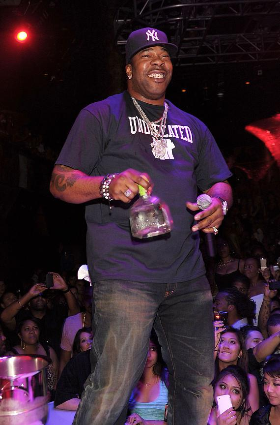Busta Rhymes performs at Haze Nightclub