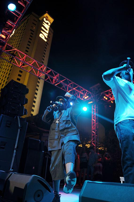 Big Boi performs at The Palms Pool and Bungalows