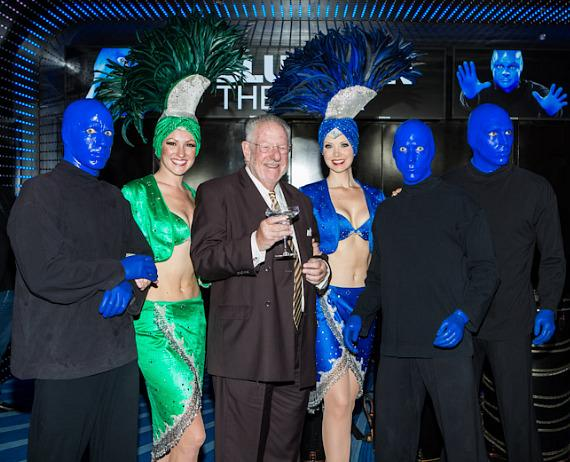 Blue Former Mayor Oscar Goodman at Monte Carlo Resort & Casino