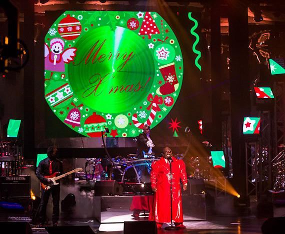Cee Lo Green sings songs from his Christmas album at Planet Hollywood Resort & Casino