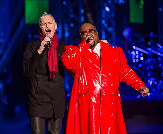 Tony Vincent and Cee Lo Green at Planet Hollywood Resort & Casino