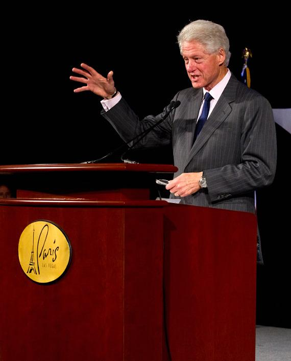 President Bill Clinton at Paris Las Vegas