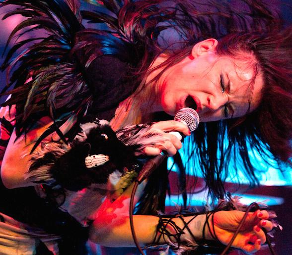 Juliette Lewis Rocks Out to a Packed House at Wasted Space