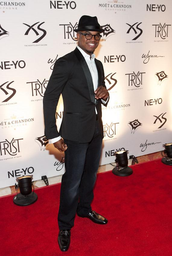 Ne-Yo celebrates 28th birthday at Tryst Nightclub in Wynn Las Vegas
