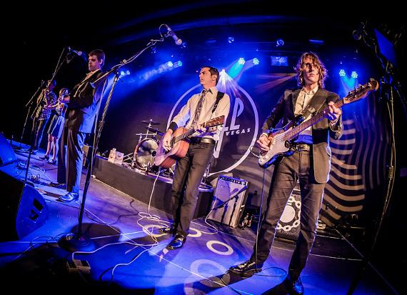 The Tossers perform at Vinyl Las Vegas at Hard Rock Hotel & Casino