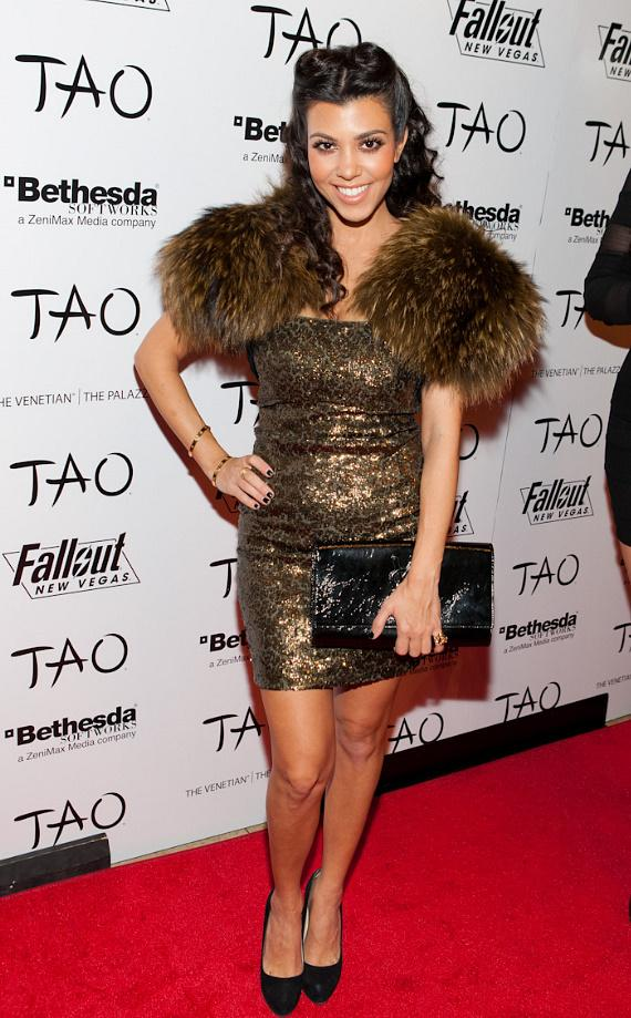 Kourtney Kardashian at TAO in Las Vegas